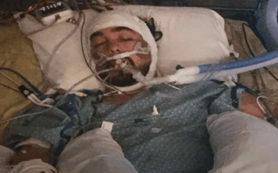 Sufrió un derrame cerebral, pero Dios escuchó las plegarias de sus familiares.